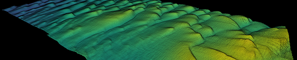 Uncovering underwater seabed features
